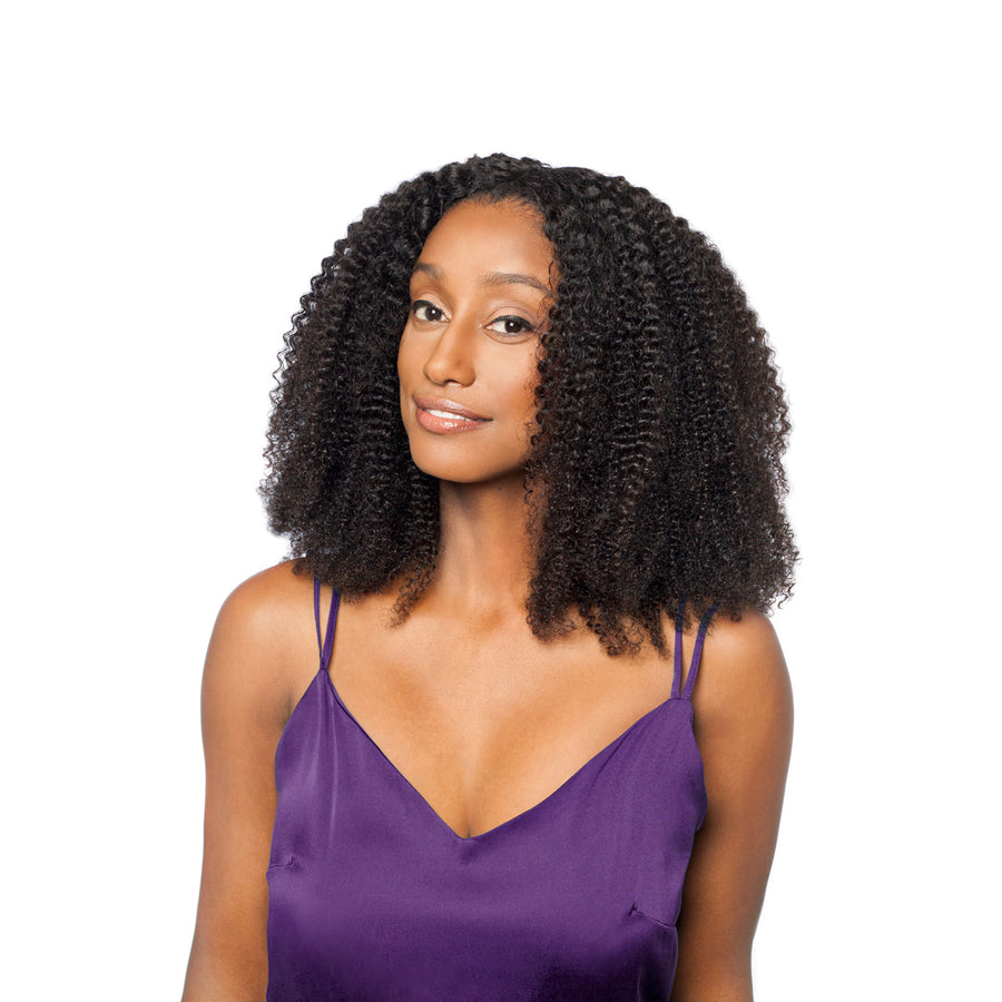 NEW!! Try our afro curly frontal to complete your natural look