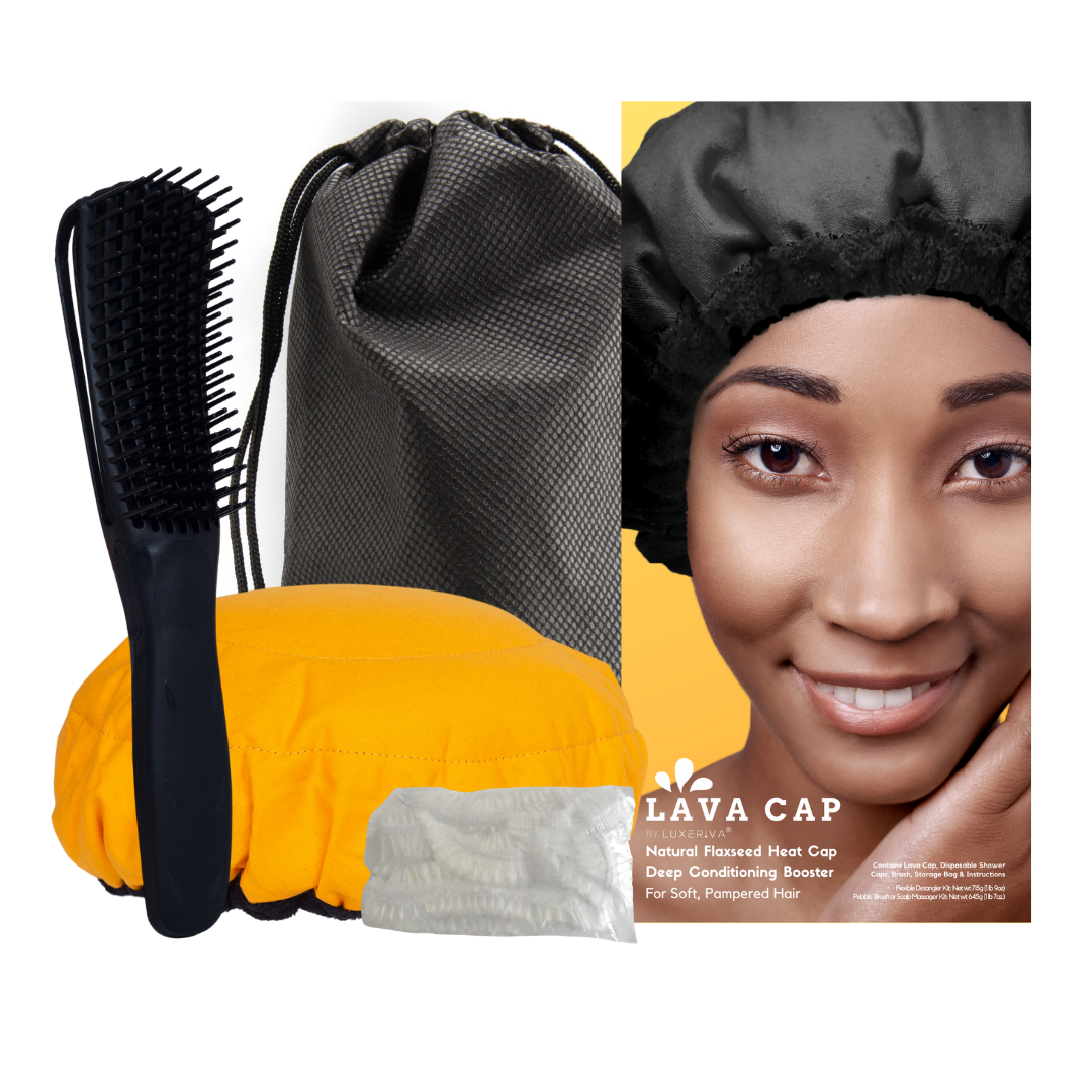 Heat Cap | Curly Hair Deep Conditioning Kit in Amber Pop!