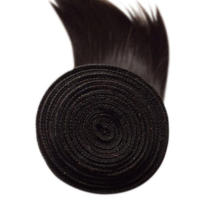 All our straight Brazilian hair bundles have expertly constructed wefts!