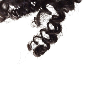 Look at the curl definition on our high quality curly hair, no split ends means no tangling
