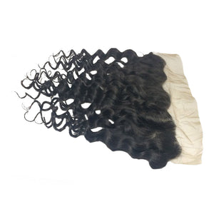 Premium deep wave hair lace frontal
