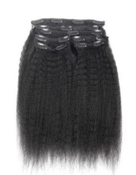 Our afro blow-out hair is silky soft and looks just like freshly blow-dried afro hair