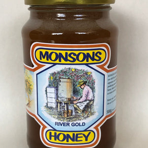 Monsons River Gold Honey 500g
