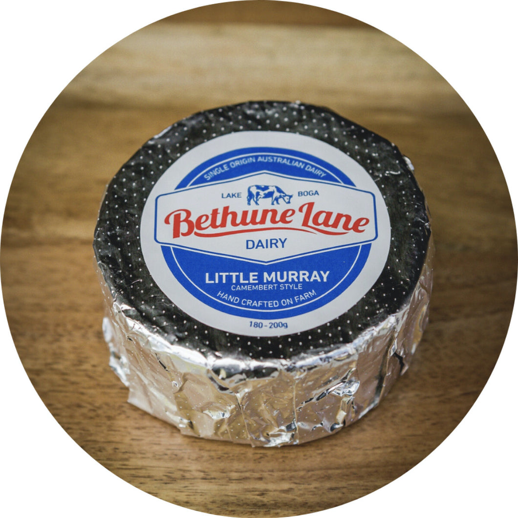 Bethune Lane Dairy camembert-style cheese