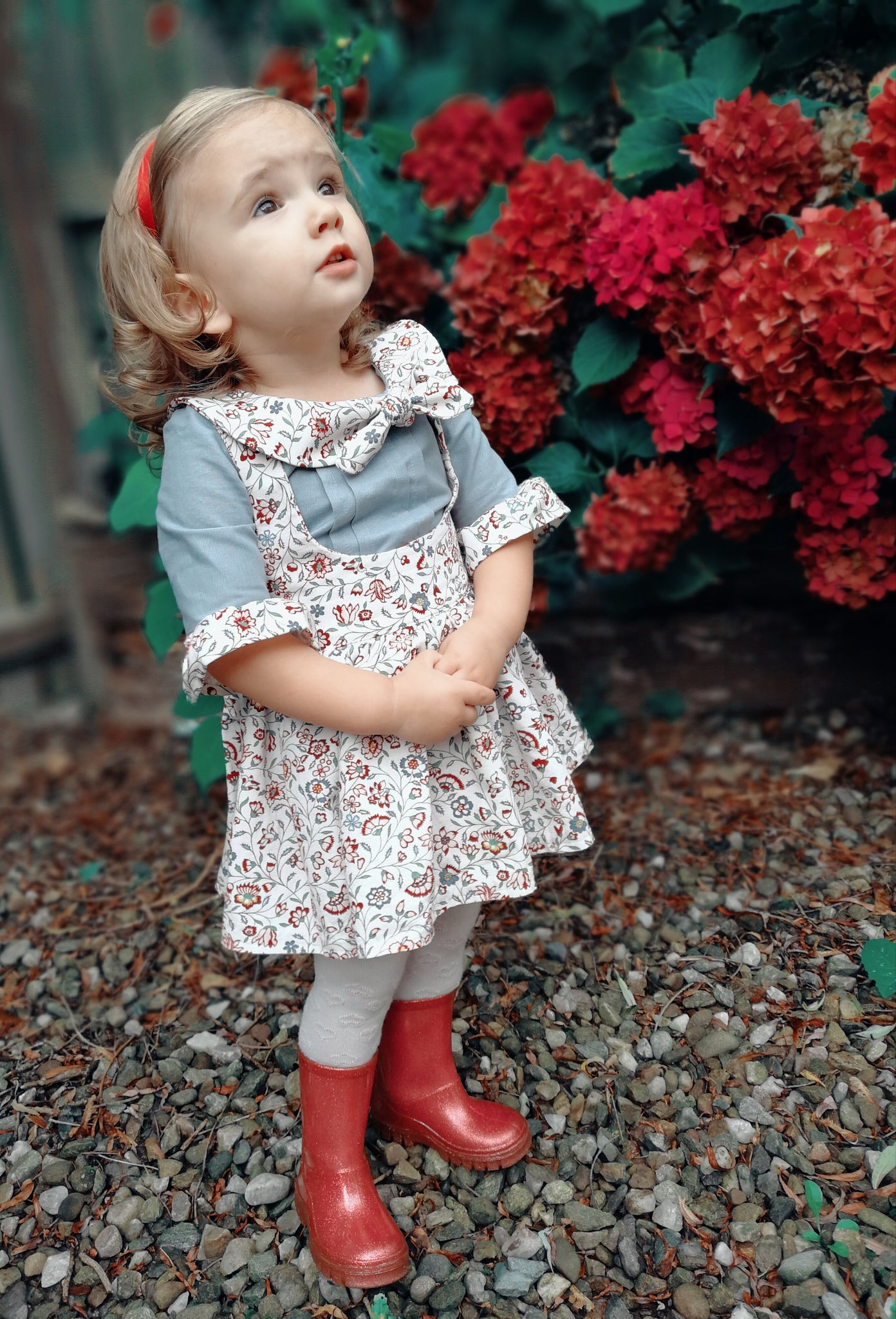 Vintage Pinny Set Inspired By Thea Overall