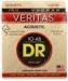 DR STRINGS VTA-10 VERITAS - .010-.048 EXTRA LIGHT PHOSPHOR BRONZE ACOUSTIC STRINGS