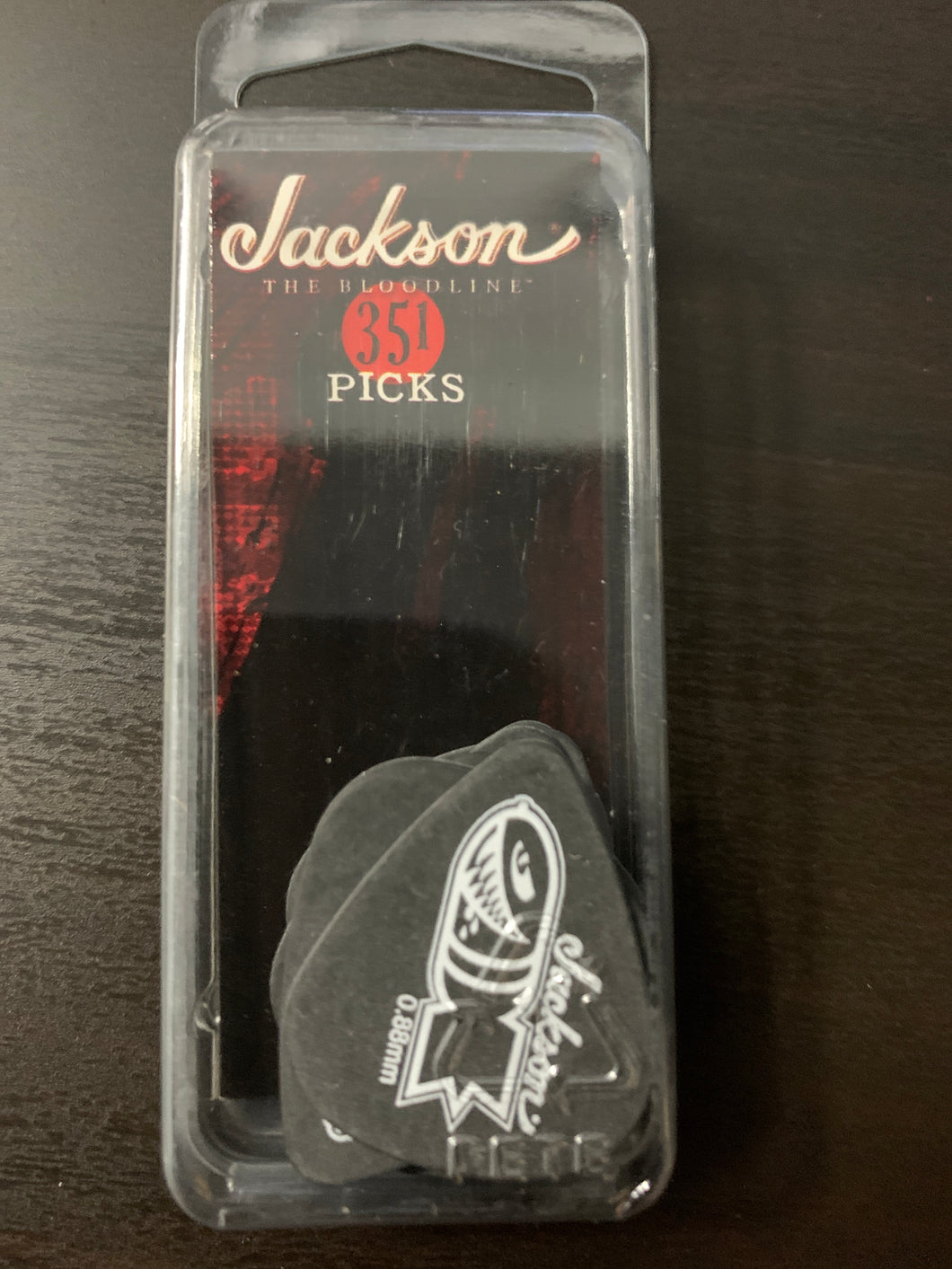 Jackson Med/Heavy .88mm picks