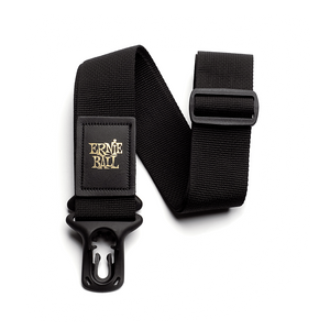 ERNIE BALL POLYLOCK GUITAR STRAP BLACK