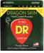 DR STRINGS DSA-2/11 DRAGON-SKIN PHOSPHOR BRONZE CUSTOM LIGHT COATED ACOUSTIC STRINGS - 2 PACK