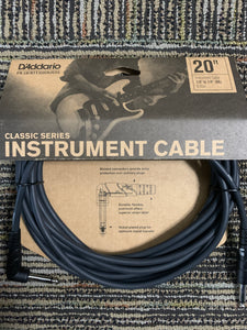 D'Addario Planet Waves Instrument Cable 20ft