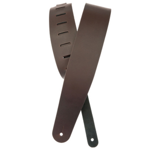 D'ADDARIO 25L01-DX LEATHER STRAP BROWN