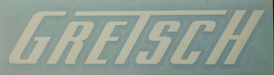 Gretsch Due Cut Window Sticker