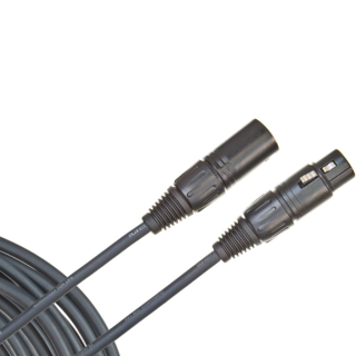 D'ADDARIO CLASSIC SERIES XLR MICROPHONE CABLE, 25 feet PW-CMIC-25