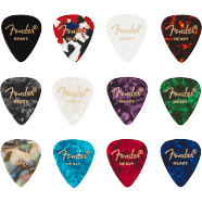 FENDER CELLULOID MEDLEY 351 SHAPE (12) PICKS
