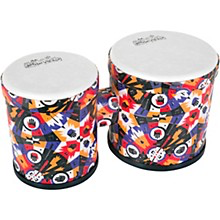 RHYTHM TECH RHYTHM VILLAGE BENKADI CLUB SERIES BONGO 13 x 9.75 in. BENKADI BURST