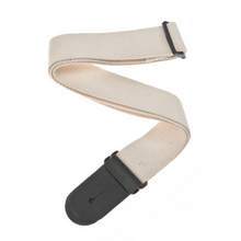 D'ADDARIO Cotton Guitar Strap, Natural