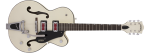 "GRETSCH G5410T ELECTROMATIC® ""RAT ROD"" HOLLOW BODY SINGLE-CUT WITH BIGSBY® VINTAGE MATTE WHITE"