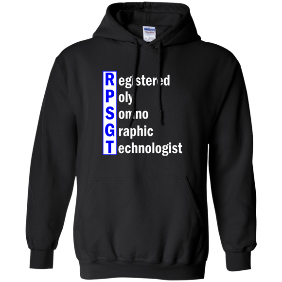 blue registered poly somno graphic technologist black hoodie