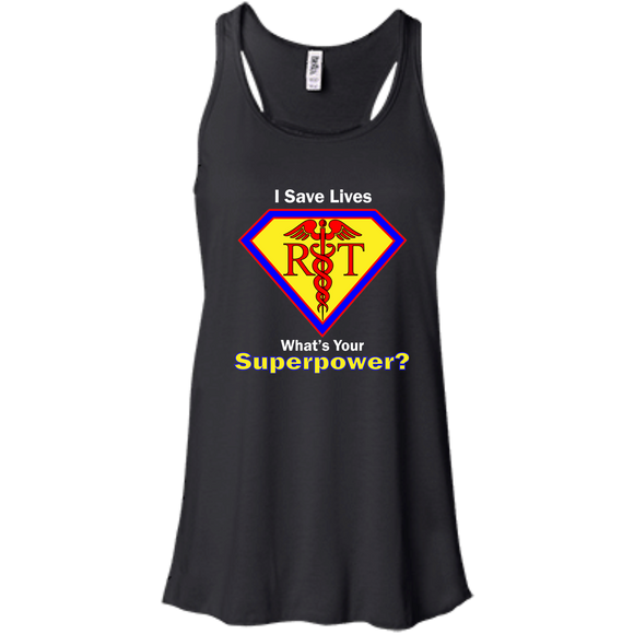respiratory therapist what's your superpower black women's tank top