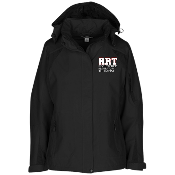 respiratory therapist rrt black women's embroidered  jacket