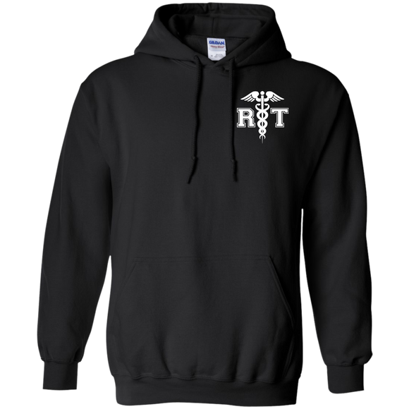 respiratory therapist front view black breath of life hoodie