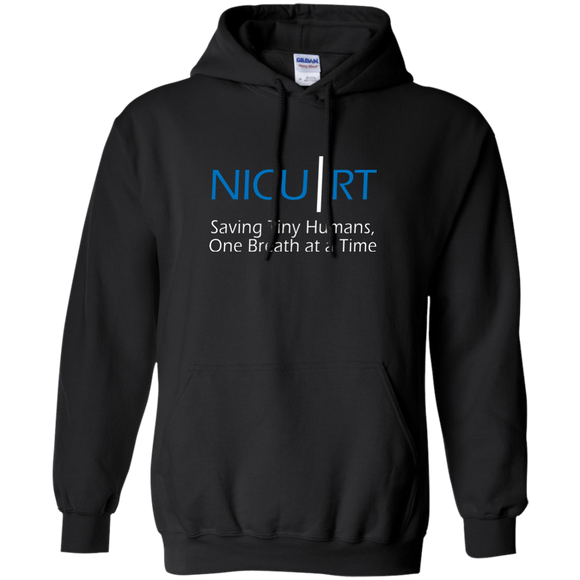 Respiratory therapist NICU RT Saving Tiny Humans one breath at a time black hoodie