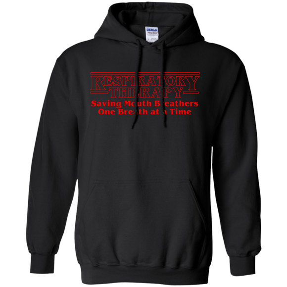 respiratory therapy saving mouth breathers one breath at a time black unisex hoodie