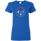 emergency room rrt women's blue t-shirt