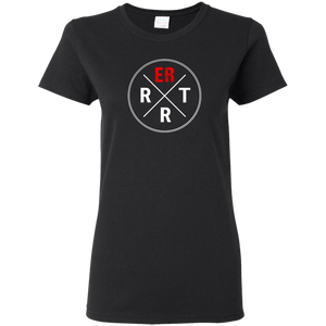 emergency room rrt women's black t-shirt