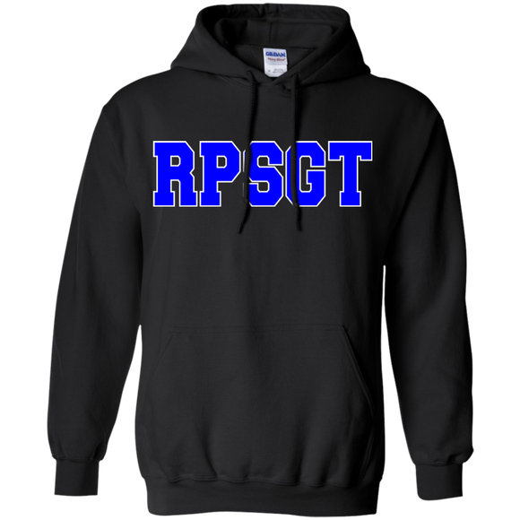 respiratory therapist blue rpsgt black hoodie