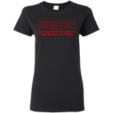 respiratory therapy saving mouth breathers one breath at a time black women's t-shirt