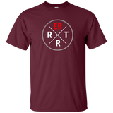 emergency room rrt maroon t-shirt