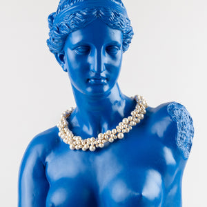 Cluster Pearl Necklace