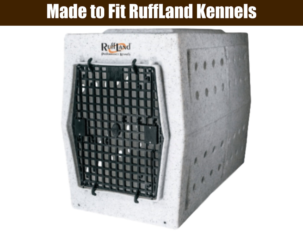 Deluxe Crate Mat | Fits RuffLand Kennel | Chew Proof Crate Pad