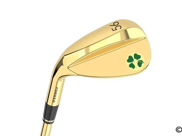Lucky Lefty Gold Sand Wedge (56 degree)