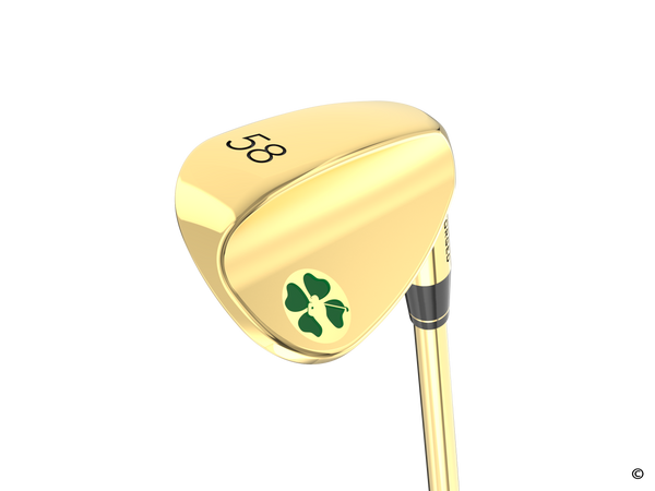 Lucky Gold Flop Wedge (58 Degree)