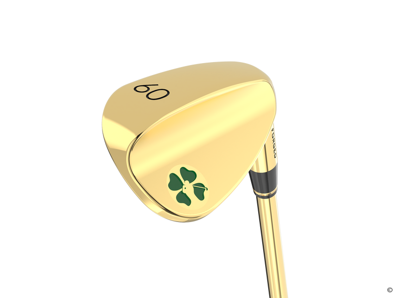 Lucky Gold Lob Wedge (60 Degree )