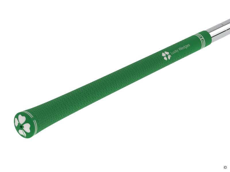 Green Lucky Wedges Grips (replacements)