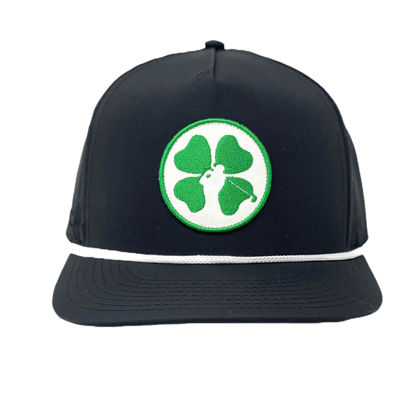 Lucky Clover Hat - Black