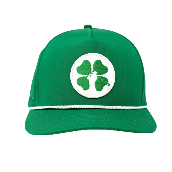 Lucky Clover Hat - Green