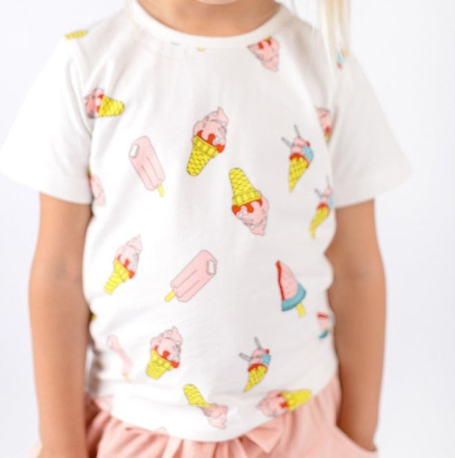 ICE CREAM/ POPSICLE GRAPHIC TEE
