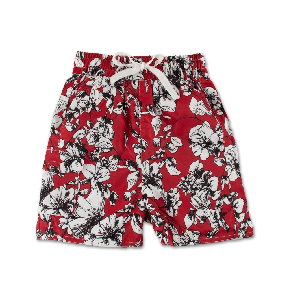 Red Lilo Short