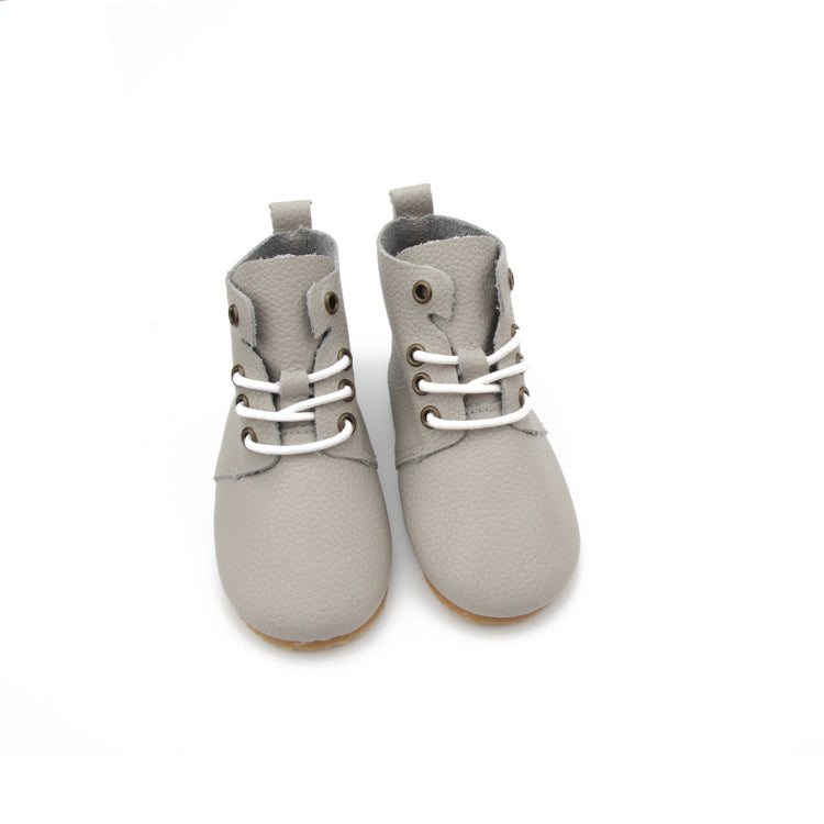 Oxford sneaker boot heather grey