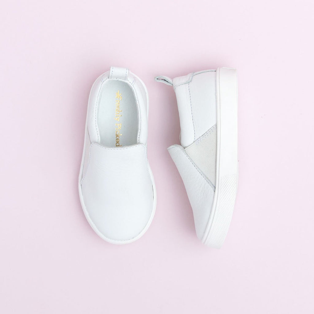 FP WHITE SLIP ON SNEAKER
