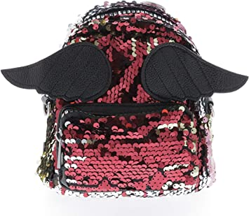 Sequin Wing Mini Backpack