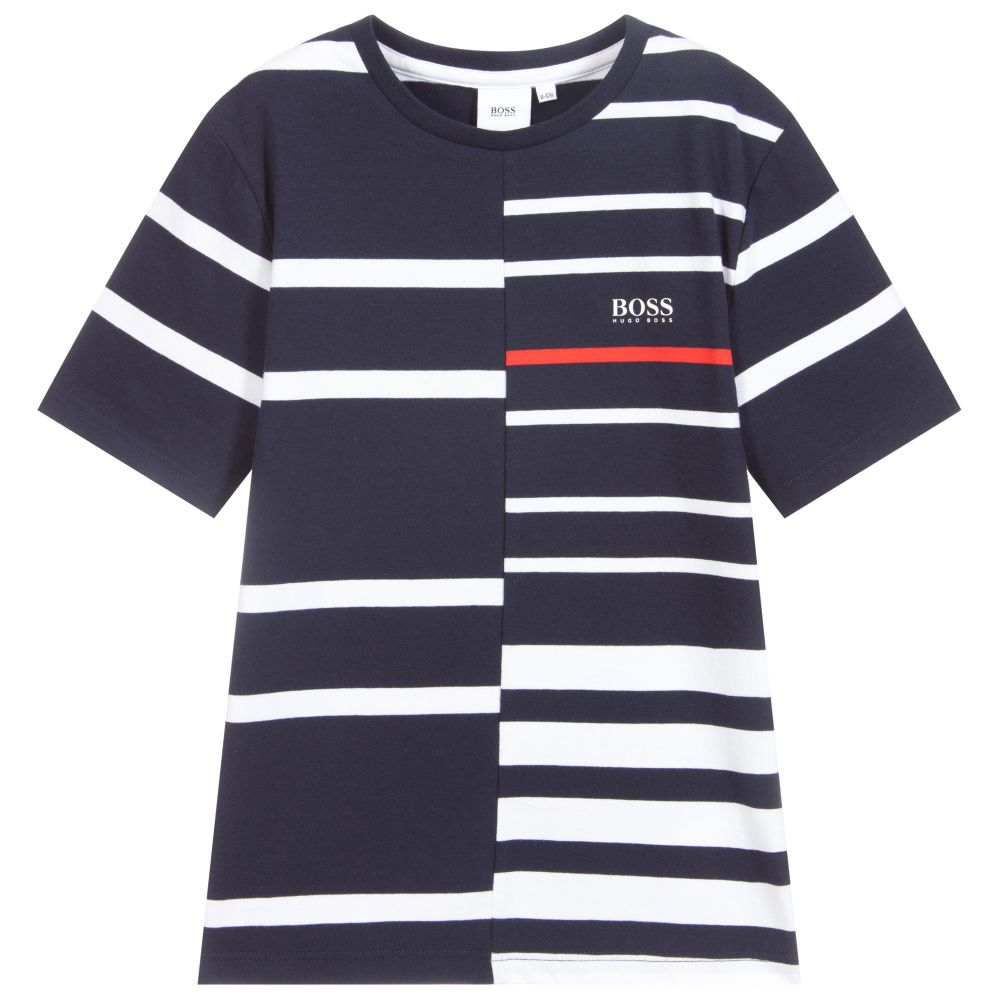 Hugo Boss Blue Stripe Tee