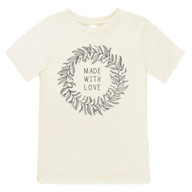 MADE WITH LOVE ORGANIC TEE