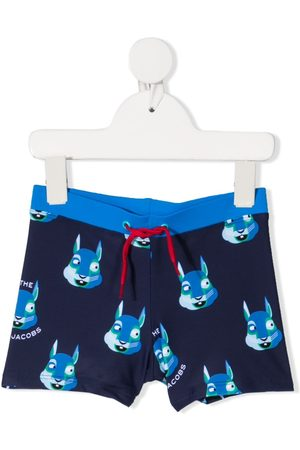 Marc Jacobs Mascot Swim Trunks
