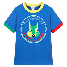 Marc Jacobs Blue Mascot Tee