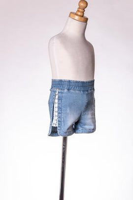 BLUE JEAN LACE SHORT ML